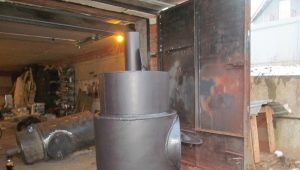 Stove for a bath of pipes: the details of manufacturing