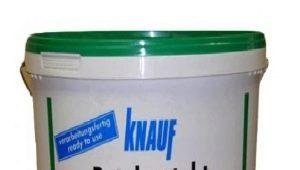 Primärförbrukning av Knauf Betokontakt per 1 m2