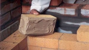 Brick masonry mix: selection and use