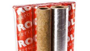 Rockwool-cylindrar: typer, fördelar och egenskaper