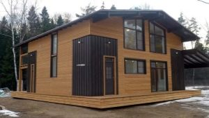 Frambräda för ett privat hus: moderna produktions- och installationsmetoder
