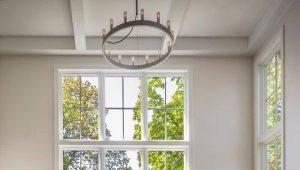 Janelas francesas em design de interiores