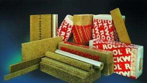 Use of Rockwool mineral wool