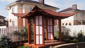 How to make a gazebo in Japanese style?
