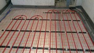 Hur man väljer isolering för golvvärme?