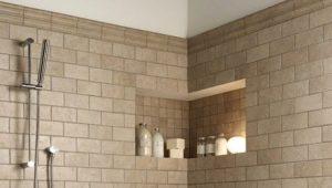 Wall tiles in the bathroom: original ideas in interior design