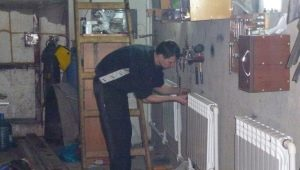 Features of garage heating