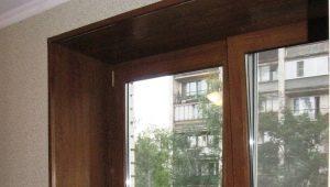 Características de windowsills vitrais
