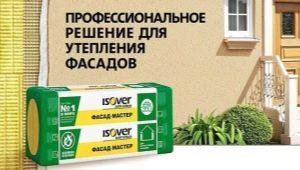 Плътност на изолацията Isover за фасадата: как да изберем?
