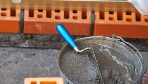 The proportions of cement mortar: the ratio and consumption