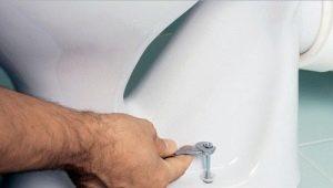Sätt att fixa toaletten på golvet
