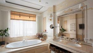 Bathrooms in private homes: interesting design ideas