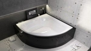 Typer och storlekar på moderna bad: från mini till maxi
