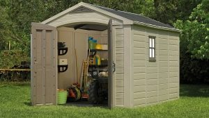 Advantages and disadvantages of plastic sheds to give