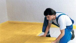 Hur man isolerar golv på första våningen från källaren?