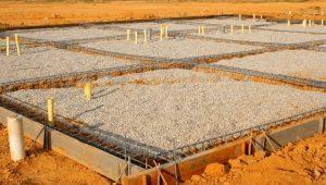 Coloană și benzi de fundație: tehnologie de construcție
