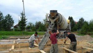 Fundația de turnare: instrucțiuni pas cu pas pentru construcție