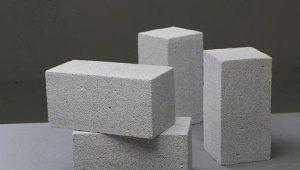 फोम ब्लॉक के लक्षण और आकार