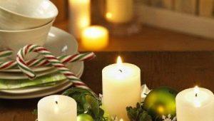Göra och dekorera ljus för det nya året