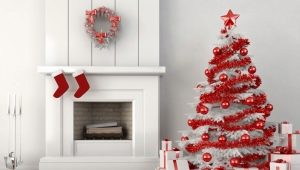 How to decorate a white Christmas tree?