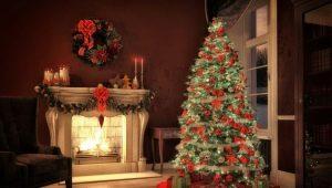 Hur man dekorerar ett julgran för det nya året?