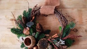 New Year's decor in eco-style: original ideas and tips