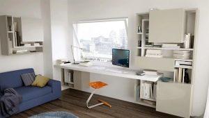 Skrivbord i modern stil för tonåringar