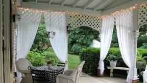 Välja utomhusgardiner till terrasser och verandor