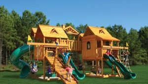 Wooden playgrounds: what is interesting to children and how to implement it?