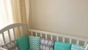 How to sew a sheet on an elastic band in a crib with your own hands?