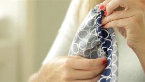 Hoe een vel op een elastische band te naaien?