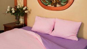 Roupa de cama Terry: vantagens e desvantagens, sutilezas de escolha