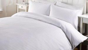 पट्टी साटन से बिस्तर के विकल्प और उपयोग की विशेषताएं