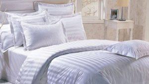 Linge de lit en satinette: gamme et caractéristiques du choix
