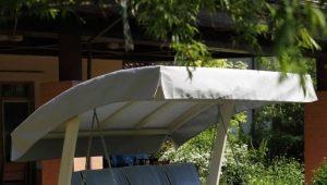 اختيار المظلة لتقلب الحديقة