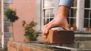 Brickwork: menetelmät, koot ja periaatteet