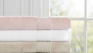 Handdoeken: variëteiten, kenmerken, oriëntatiepunten voor selectie