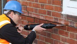 Brickwork injektionsprocess