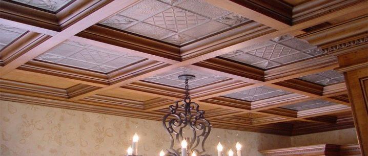 Dalles de plafond en mousse: informations générales et variations