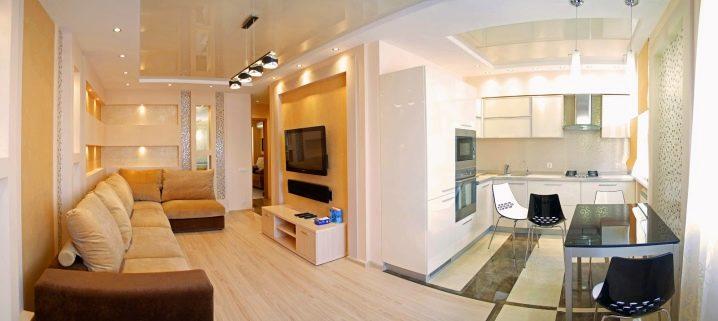 1-कमरे ख्रुश्चेव का लेआउट और डिज़ाइन