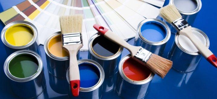 Akrylfärger: Typ och tillämpningsområde