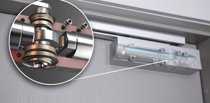 Choose a door closer for sliding doors