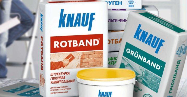 Knauf Rotband gips: egenskaper och tillämpning