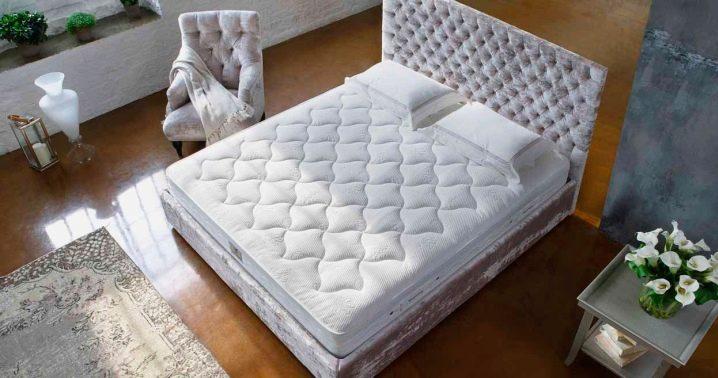 Orthopedic double mattresses