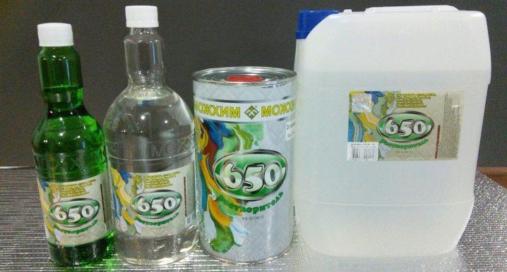 Solvant 650: composition et champ d'application