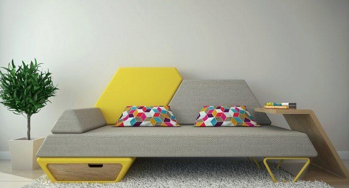 Canapé non standard