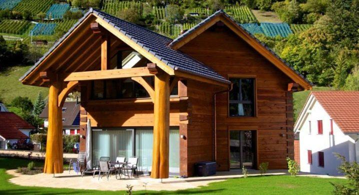 लकड़ी से घरों के निर्माण की subtleties