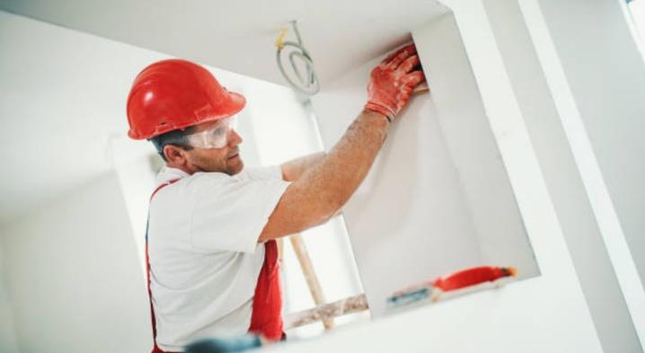 Hur fixar man gipsmur till väggen?