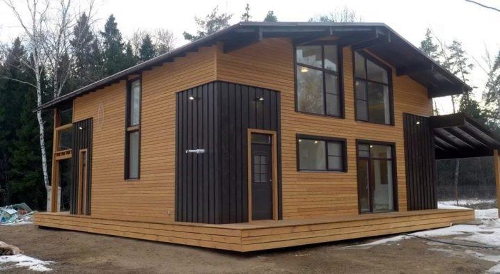 Frontboard per una casa privata: moderni metodi di produzione e installazione
