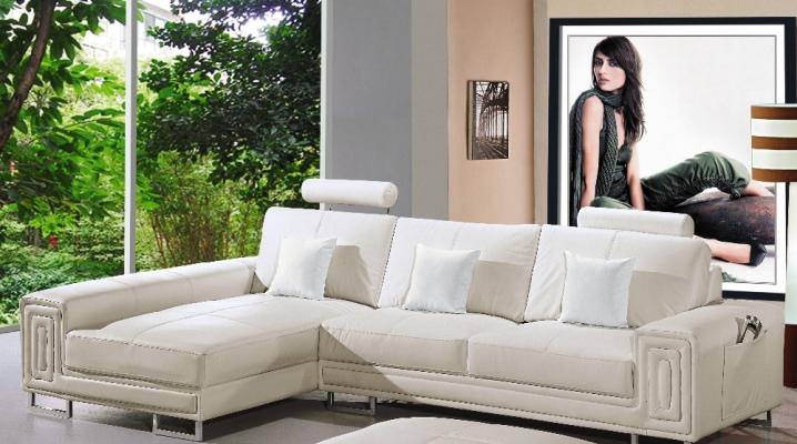 Canapés d'Angle Blanc